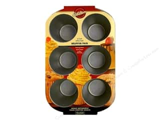 Wilton Muffin Pan King Size 6 Cup Non Stick