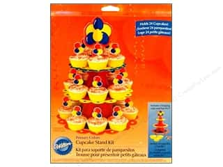 Chipboard Craft & Hobbies: Wilton Cupcake Stand Kit Primary Colors