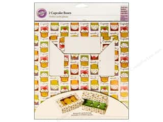Boxes and Organizers Cooking/Kitchen: Wilton Containers Cupcake Box 6 Cavity Cupcake Heaven 2pc