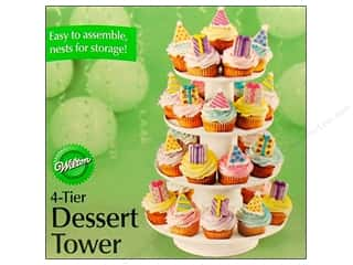 "Wilton Containers Dessert Tower 4 Tier 12""x 16.25"""