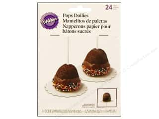 Wilton Decorations Pops Doilies 24pc