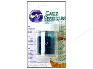 Wilton Edible Deco Cake Sparkles .25oz Blue