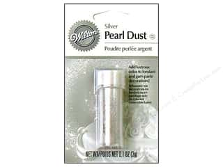 Wilton Clear: Wilton Edible Decorations Pearl Dust .1oz Silver