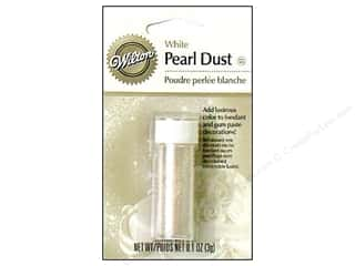 Wilton Clear: Wilton Edible Decorations Pearl Dust .1oz White