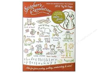 Yarn & Needlework ABC & 123: Stitcher's Revolution Iron On Transfer Tiny Tot Designs