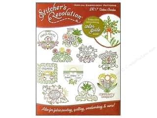 Stitchers Revolution Flowers: Stitcher's Revolution Iron On Transfer Urban Garden