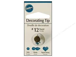 Wilton Tools Cake Decorating Tip Round #12