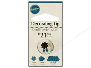 Wilton Tools Cake Decorating Tip Open Star #21