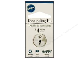 Wilton Tools Cake Decorating Tip Round #4