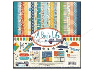 "Echo Park Collection Kit 12""x 12"" A Boy's Life"