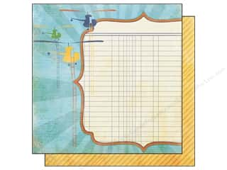 Echo Park Paper 12x12 A Boy&#39;s Life Adventurer (25 sheets)