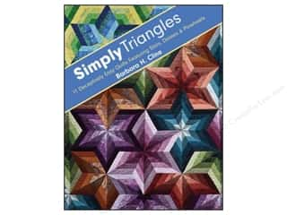 C&T Publishing Simply Triangles Book by Barbara Cline
