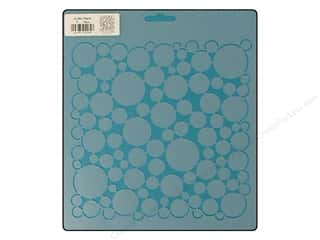 Quilt Stencil  Background: Quilting Creations Stencil Pearls 7 in.