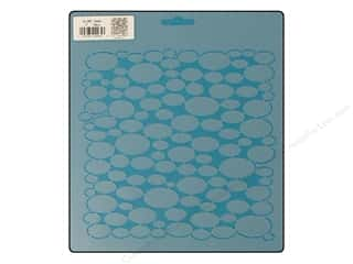 Quilting Creations Stencil Opals 7 in.