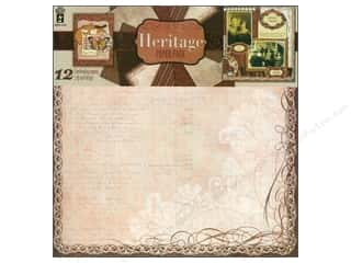 Hot Off The Press Paper Pack 12x12 Heritage