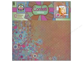 "Confetti: Hot Off The Press Paper Pack 12""x 12"" Confetti"