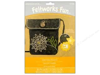 Weekly Specials Kids Crafts: Dimensions Embroidery Kit Feltwork Fun Purse Mum