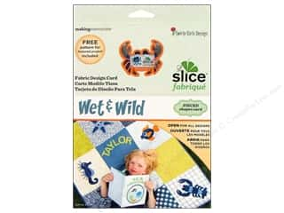 Making Memories Sewing & Quilting: Slice Design Card Making Memories Fabrique Wet & Wild