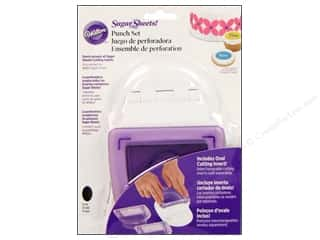 Cutters Wilton Tools: Wilton Tools Sugar Sheet Punch Set with Oval Insert