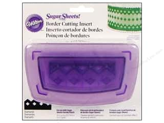 Clearance Wilton Cookie Pops Pan : Wilton Tools Cutting Insert Border Diamonds
