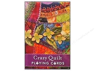C&amp;T Playing Cards Crazy Quilt