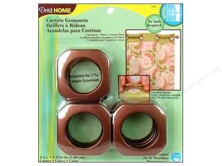plastic curtain grommets: Dritz Home Curtain Grommets 1 9/16 in. Copper 8pc