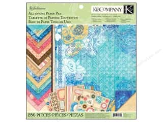 K &amp; Company: K&amp;Co Paper Pad 12x12 Julianne All In One Vintage