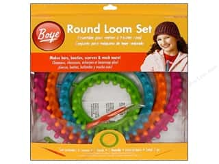 Holiday Gift Ideas Sale Boye Loom Sets: Boye Round Loom Set