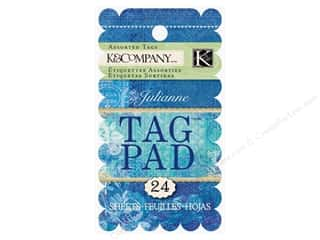 K&amp;Co Tag Pad Julianne Vintage Ornate