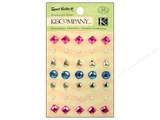 K&amp;Co Adhesive Embellishments Gems Sweet Nectar Mod