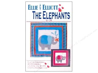 Ellie & Elliot Elephants Pattern