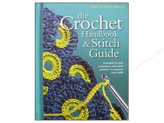 Chronicle Books $6 - $8: Chartwell The Crochet Handbook & Stitch Guide Book