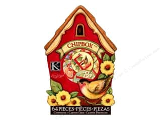 K&Co Chipboard Chipbox SW Meadow Birdhouse