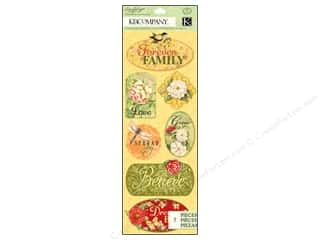 K&amp;Co Adhesive Chipboard SW Meadow Word &amp; Icon