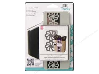 EK Paper Shapers Edger Punch 2 In 1 Groovy Flower