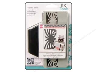 EK Paper Shapers Edger Punch 2 In 1 Stripe Butterfly