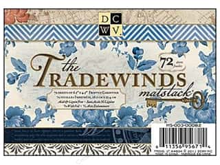 DieCuts Printed Mat Stack 6.5x4.5 Tradewinds