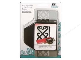 EK Paper Shapers Large Edger Punch Scroll Flower Chain