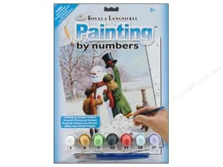 Royal Rub Ons Royal Paint By Number: Royal Paint By Number Junior Small Winter Wonderland