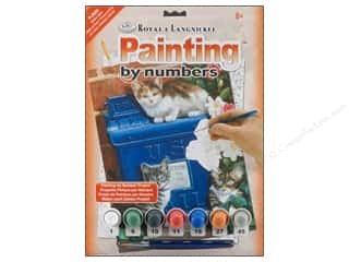 Royal Rub Ons: Royal Paint By Number Junior Small Mailbox Kittens