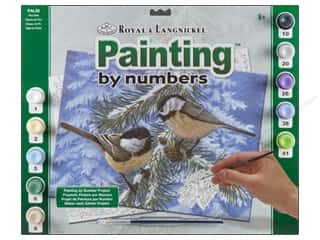 Royal Paint By Number Adult Pine Birds