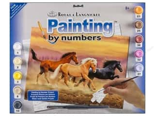 Royal Rub Ons Royal Paint By Number: Royal Paint By Number Junior Large Gone with Wind