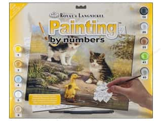 Projects & Kits Royal Paint By Number: Royal Paint By Number Junior Large Pond Pals