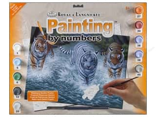 Royal Rub Ons: Royal Paint By Number Junior Large Three Tigers