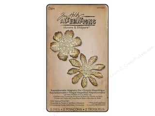 Sizzix Die Tim Holtz Movers Mag Mini Tattered Flrl