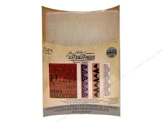 Sizzix Emboss Folder Tim Holtz TF Valentine