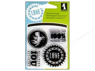 Inkadinkado Clear Stamp Mini All About Love
