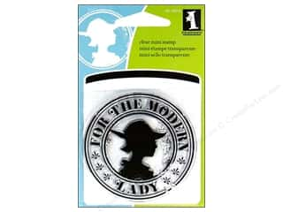 Inkadinkado Clear Stamp Mini Modern Lady