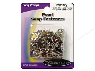 Snapsource Snap Capped Prong Ring Size 18 Pearl Multi Primary