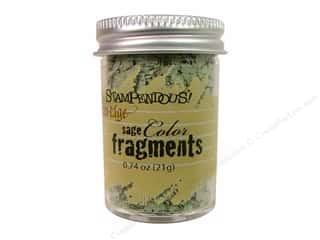 Clearance Fran-tage Color Fragments: Stampendous Fran-Tage Color Fragments Sage .74oz